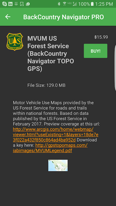 MVUM Motor Vehicle Use Maps CritterMap Software HelpDesk - Us forest service topo maps